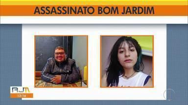 Homem mata duas jovens e depois comete suicídio em Bom Jardim, na Região Serrana do RJ - Segundo a Polícia Militar, os disparos teriam sido efetuados pelo ex-namorado de uma das vítimas, que não aceitava o fim do relacionamento