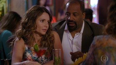 Doralice discute com Natália - Juliano pede que a mãe pegue leve com sua noiva