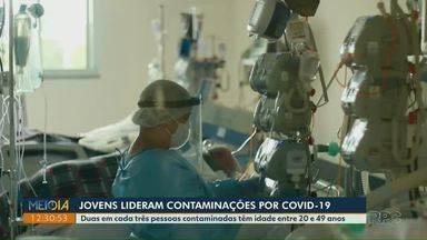 Média móvel diária da Covid-19 está em alta pelos últimos 10 dias em Ponta Grossa - Cidade registrou 730 casos nos últimos sete dias.
