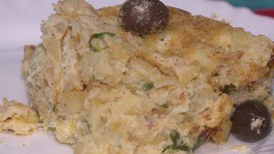 Aprenda a preparar um delicioso bacalhau com natas, receita de origem portuguesa - Bacalhau com natas