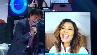 Chitãozinho e Xororó cantam Evidências - Confira!