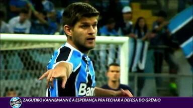 """""""Cão tricolor"""", Kannemann é esperança para fechar a zaga do Grêmio - """"Cão tricolor"""", Kannemann é esperança para fechar a zaga do Grêmio"""