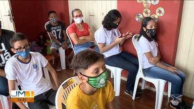Escolas municipais de São Luís terão ensino remoto em 2021 - Kits com chips estão sendo distribuídos nas escolas municipais.