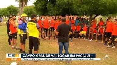Confira as notícias do esporte do Cariri - Saiba mais em g1.com.br/ce