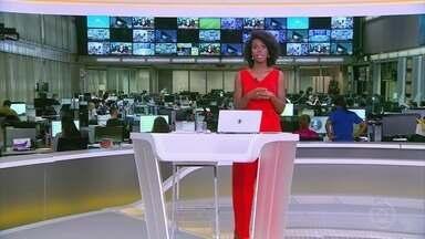 Jornal Hoje - Edição de 04/01/2021 - Os destaques do dia no Brasil e no mundo, com apresentação de Maria Júlia Coutinho.