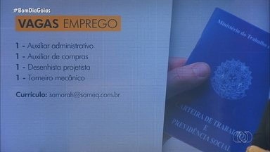 Confira as vagas de emprego disponíveis para Goiás - Empresa contrata auxiliar de laboratório.
