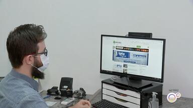 Prefeitura de Bauru disponibiliza opção do IPTU digital com desconto maior à vista - Já está disponível em Bauru (SP) a opção do IPTU digital, que oferece um desconto maior para o pagamento à vista.
