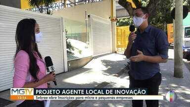 Sebrae Minas está com inscrições abertas para processo seletivo - Vagas são para Agente Local de Inovação, saiba mais.