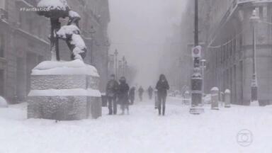 Após pior nevasca em décadas, Espanha enfrenta onda de frio extremo - As temperaturas devem chegar a dez graus negativos em grande parte do interior do país.