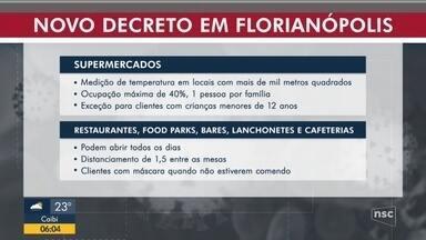 Covid-19: Florianópolis em primeiro fim de semana com novas regras - Covid-19: Florianópolis em primeiro fim de semana com novas regras