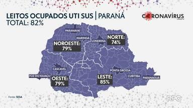 Paraná tem mais sete mortes provocadas pela Covid-19 - A Secretaria Estadual de Saúde divulgou 1.625 novos casos.