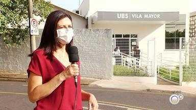 UBS Vila Mayor, em Rio Preto, passa a atender apenas pacientes com sintomas respiratórios - A UBS da Vila Mayor, em São José do Rio Preto (SP), passa a atender, a partir desta segunda-feira (11), apenas casos de pacientes com sintomas respiratórios. A medida foi tomada pela prefeitura devido ao aumento do atendimento de pessoas com sintomas de gripe e Covid-19 na cidade nos últimos dias.