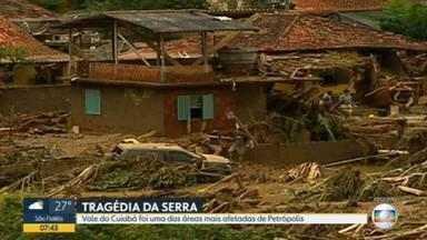 Após 10 anos, moradores de Petrópolis ainda se recuperam da tragédia - Vale do Cuiabá foi uma das áreas mais afetadas da região.