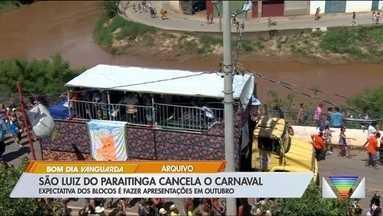 São Luiz do Paraitinga cancela carnaval de marchinhas - Folia atrai milhares de pessoas todos os anos.