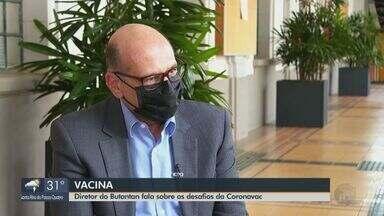 Diretor do Butantan fala sobre os desafios da Coronavac - Cerca de 6 milhões de doses contra a Covid já estão prontas.
