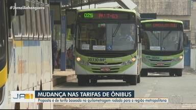 Prefeitura de Goiânia pretende propor novo modelo de tarifas para o transporte coletivo - Ideia é que moradores de Goiânia e Aparecida de Goiânia paguem uma tarifa única.