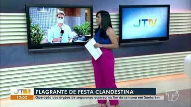 Órgãos de segurança interrompem festas clandestinas em Santarém - Operação dos órgãos de segurança ocorreu no fim de semana em Santarém.