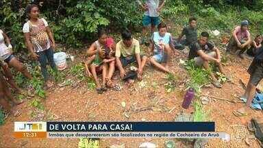 Irmãos que desapareceram depois de sair para caçar são localizados vivos em comunidade - Saiba mais sobre as ações realizadas pelo Corpo de Bombeiros.