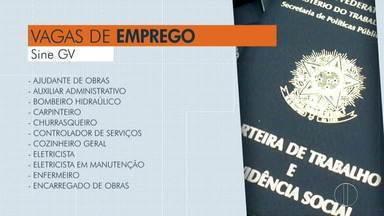 Confira as vagas de emprego disponíveis em Governador Valadares - São diversas oportunidades.