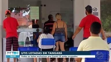 Em Tangará da Serra leitos exclusivos para Covid estão com lotação máxima - Em Tangará da Serra leitos exclusivos para Covid estão com lotação máxima.