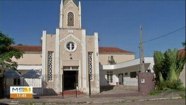 Paróquia que substitui catedral em Corumbá é arrombada e furtada - Furto em igreja