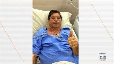 Morre Maguito Vilela, prefeito de Goiânia - Morreu, nesta madrugada, o prefeito de Goiânia, Maguito Vilela, do MDB. Ele estava internado em São Paulo há mais de 80 dias com complicações da Covid-19.