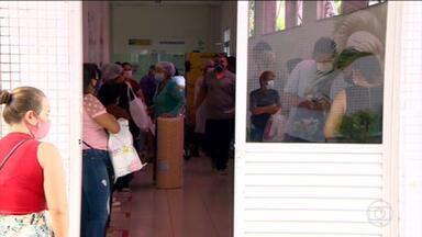 Janeiro bate recorde de internações por Covid-19 desde o início da pandemia em Manaus - O número de pessoas internadas com a doença já ultrapassou o mês de abril, que era considerado o pico na capital amazonense.