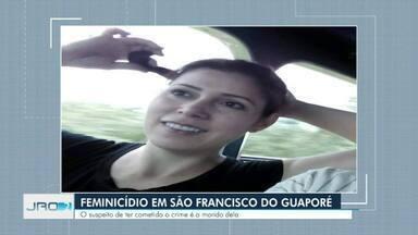 Mulher é morta a facadas em cima da cama pelo marido - Este é o primeiro caso registrado de feminicídio do ano em Rondônia.