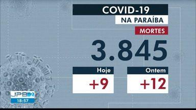 Confira os números atualizados de Covid-19 na Paraíba nesta quarta-feira (13) - Foram mais nove mortes no último balanço.