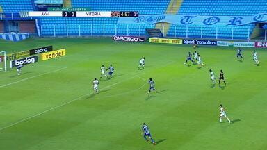 Melhores momentos: Avaí 2 x 2 Vitória, pela 34ª rodada do Brasileirão Série B - Melhores momentos: Avaí 2 x 2 Vitória, pela 34ª rodada do Brasileirão Série B
