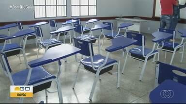 Veja os preparativos para o retorno às aulas nas redes estadual e municipal de ensino - Rede estadual terá aulas híbridas.