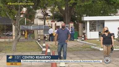 Centro Estadual de Treinamento Esportivo em Porto Alegre reabre nesta segunda-feira (18) - Assista ao vídeo.