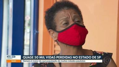 Famílias perdem parentes para a Covid-19 e tentam lidar com o luto durante a pandemia - Em São Paulo, são mais de 50 mil vidas perdidas.