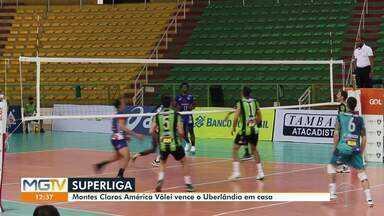 Esporte: América-MG vence Uberlândia por 3 sets a 0 em partida eletrizante - Confira outras notícias do esporte.