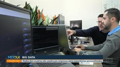 Saiba como funciona o Big Data - Dados dos usuários são usados por empresas para experiências personalizadas.