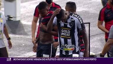 Botafogo sofre virada do Atlético-GO e vê o rebaixamento cada vez mais perto - Botafogo sofre virada do Atlético-GO e vê o rebaixamento cada vez mais perto