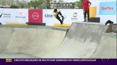 Circuito brasileiro de Skate Park domingo no Verão Espetacular - Circuito brasileiro de Skate Park domingo no Verão Espetacular
