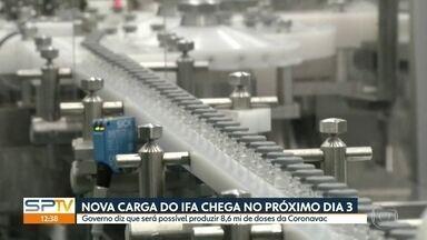 SP1 - Edição de terça-feira, 26/01/2021 - Instituto Butantan anuncia que a chegada de novo carregamento de matéria prima da Coronavac. Chuva causa prejuízos e alagamentos em São Paulo. Número de mortes e de casos pela Covid-19 aumentam no estado.