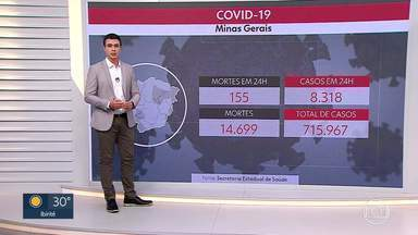 Covid-19: Minas Gerais tem 8.318 novos casos da doença nas últimas 24 horas - Até agora, 136 mil pessoas foram vacinadas no estado