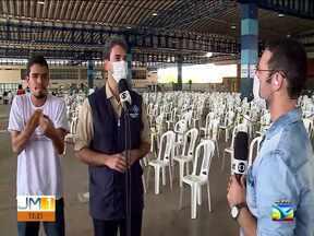 Prefeito de São Luís fala sobre as próximas etapas da vacinação contra Covid-19 - Proxima etapa será vacinar pessoas acima de 75 anos.