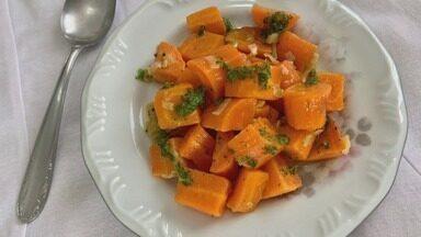 Culinária #013: Aprenda a fazer três receitas com cenoura - Chef Gui Salvadori ensinou o passo a passo de cada uma delas.