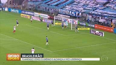 Gols do Brasileirão - Flamengo vence o Grêmio e Bahia passa pelo Corinthians.