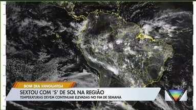 Fim de semana deve ser de calor no Vale do Paraíba - Veja explicação do meteorologista.