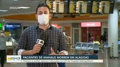Dois pacientes em tratamento contra Covid-19 morrem no Alagoas - Homem e mulher estavam internados na UTI do Hospital Metropolitano.