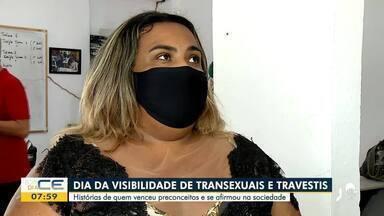 Visibilidade de transexuais e travestis: veja histórias de quem venceu preconceitos - Saiba mais no g1.com.br/ce