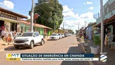 Prefeitura de Chapada dos Guimarães decretou medidas para tentar conter avanço da Covid-19 - Prefeitura de Chapada dos Guimarães decretou medidas para tentar conter avanço da Covid-19