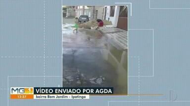 VC no MG1: morador reclama de rua no bairro Bom Jardim, em Ipatinga - Confira.