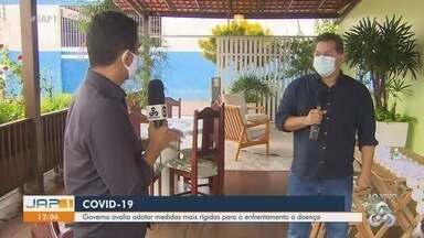 Governo do Amapá avalia adotar medidas mais rígidas para o enfrentamento da Covid-19 - Governo do Amapá avalia adotar medidas mais rígidas para o enfrentamento da Covid-19