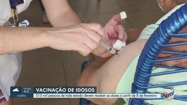 Vacinação de idosos começa a partir de fevereiro no estado de São Paulo - Pelo menos 500 mil pessoas com idade acima de 85 anos devem ser imunizadas no próximo mês. Grupo é prioritário devido ao risco de complicações em caso de contaminação.