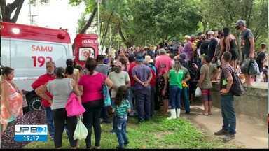 Tentativa de assassinato é registrado no Parque Solon de Lucena - Crime aconteceu no meio do dia, na frente de muitas testemunhas.